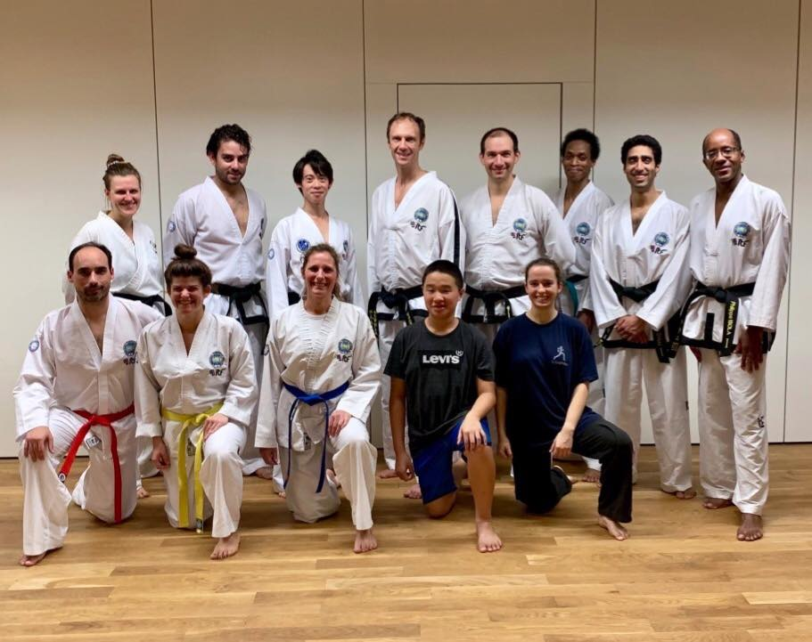 zoom sur le club Taekwon-Do ITF Paris